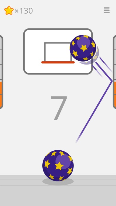 Ketchapp Basketball Screenshot