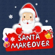 Christmas Makeover FREE - Santa Claus Photo Editor to Add Hat, Mustache & Costume