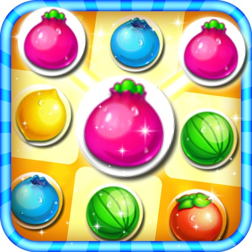 Fruit Bubble Splash Link Free iOS App