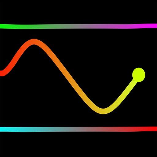 Line Neon iOS App