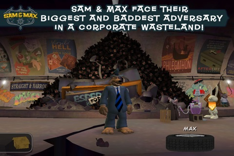 Sam & Max Beyond Time and Space Ep 5 screenshot 3