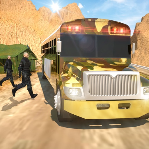 Offroad Army Bus Simulator 3D - Realistic Driving & Transport Military Intelligence Officials iOS App