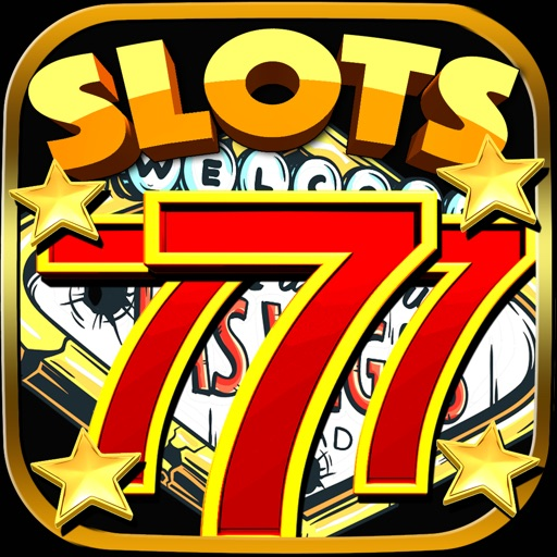 Free Slot Machines Triple Star - Las Vegas Slots Machines Spin and Win Icon