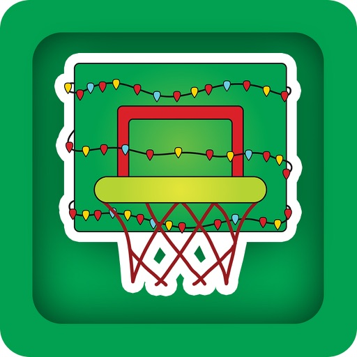 Cute Santa Basketball iOS App