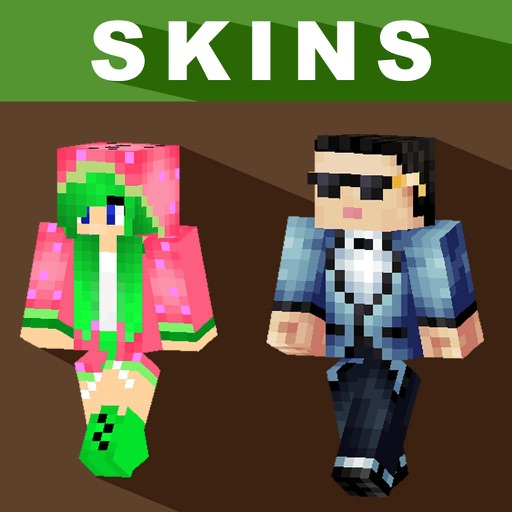 Skins for Minecraft PE (Pocket Edition) - Free Pro Skins for MCPE iOS App