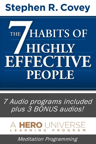 7 Habits of Highly Effective People, by Stephen Covey, Audiobook Meditation and Business Learning Program-Franklin Covey screenshot 1