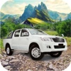 Offroad Prado Vigo Jeep Drive On The Mountain pro
