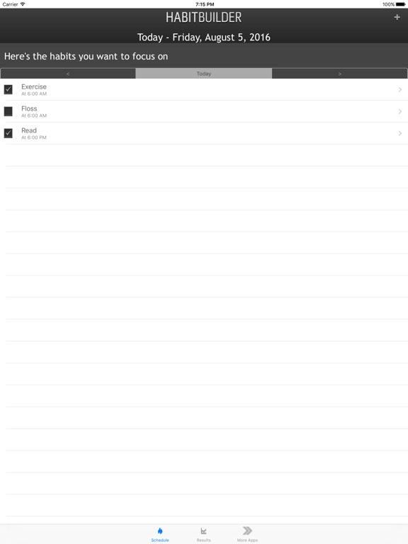 Habit Builder - Positive Habits Screenshot