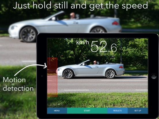 SpeedClock - Video Radar Screenshots