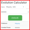 EvoCalc - Pokemon Go Cheats Sheet for Evolution