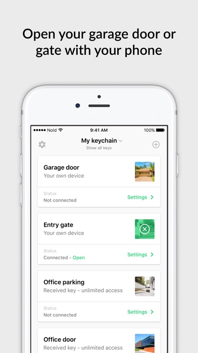 open garage door with iphoneNold Open Garage  Gate Opener on the App Store