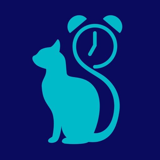 猫目覚まし(=^・ω・^=) 猫のために作られた目覚まし時計アプリ 猫好きな人にもオススメ!