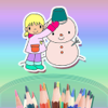 Children's Colouring  Books - Drawing & Doodle Four Seasons - Preschool & Kindergarten