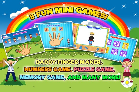 Daddy Finger Family Song screenshot 4