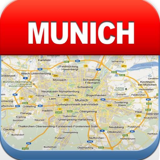 【旅行地图】慕尼黑离线地图 - 城市 地铁 机场