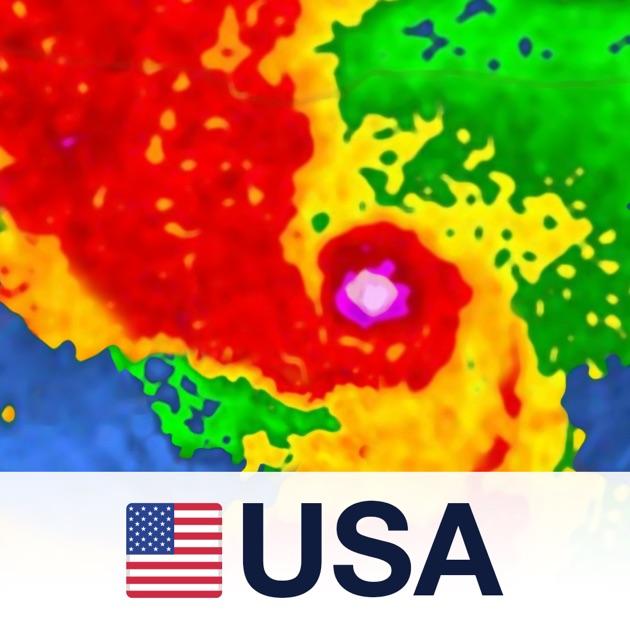 Noaa Radar Usa Free Live Radar Weather Forecast Hurricane Maps On The App Store