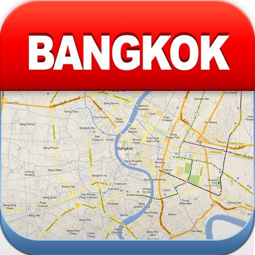 曼谷离线地图 – 城市 地铁 机场