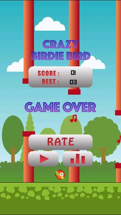 Crazy Birdie Bird Screenshot