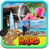 Free Hidden Object Games : Beach Shack – seek missing objects & hidden pictures in this pocket puzzle game