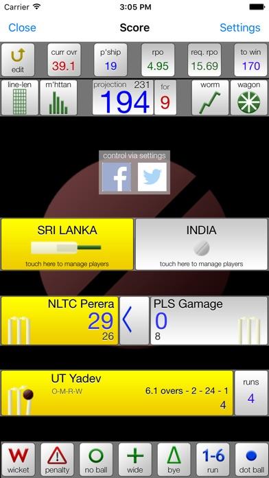 nxCricket Скриншоты3