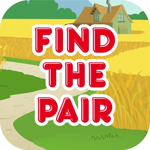 Find the Pair, memory matching cards, brain trainer game for iPhone