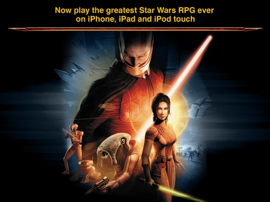 Star Wars: Knights Of The Old Republic For iOS Ties Lowest Price In Seven Months