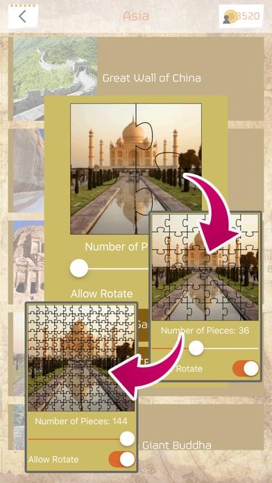 ジグソーパズル - 世界遺産 screenshot1