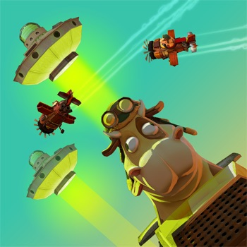 Space Rustlers: VR Flying Game for iPhone