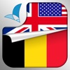 Learn FLEMISH Fast and Easy - Learn to Speak Flemish Language Audio Phrasebook and Dictionary App for Beginners