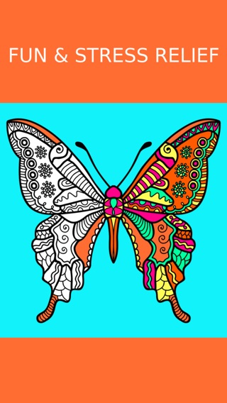 Butterfly Coloring Book For Adults Free Adult Art
