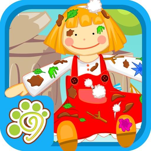小公主苏菲亚修理芭比玩具娃娃