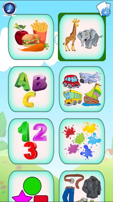 download Baby Flash Cards : 500+ Toddler Flashcards (free) apps 1