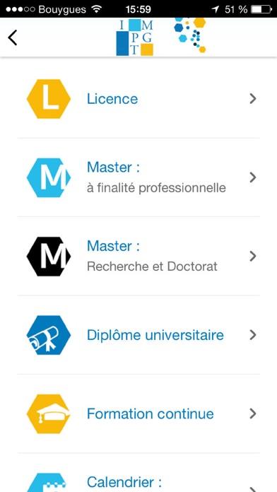 IMPGT Aix Marseille UniversitéCapture d'écran de 4