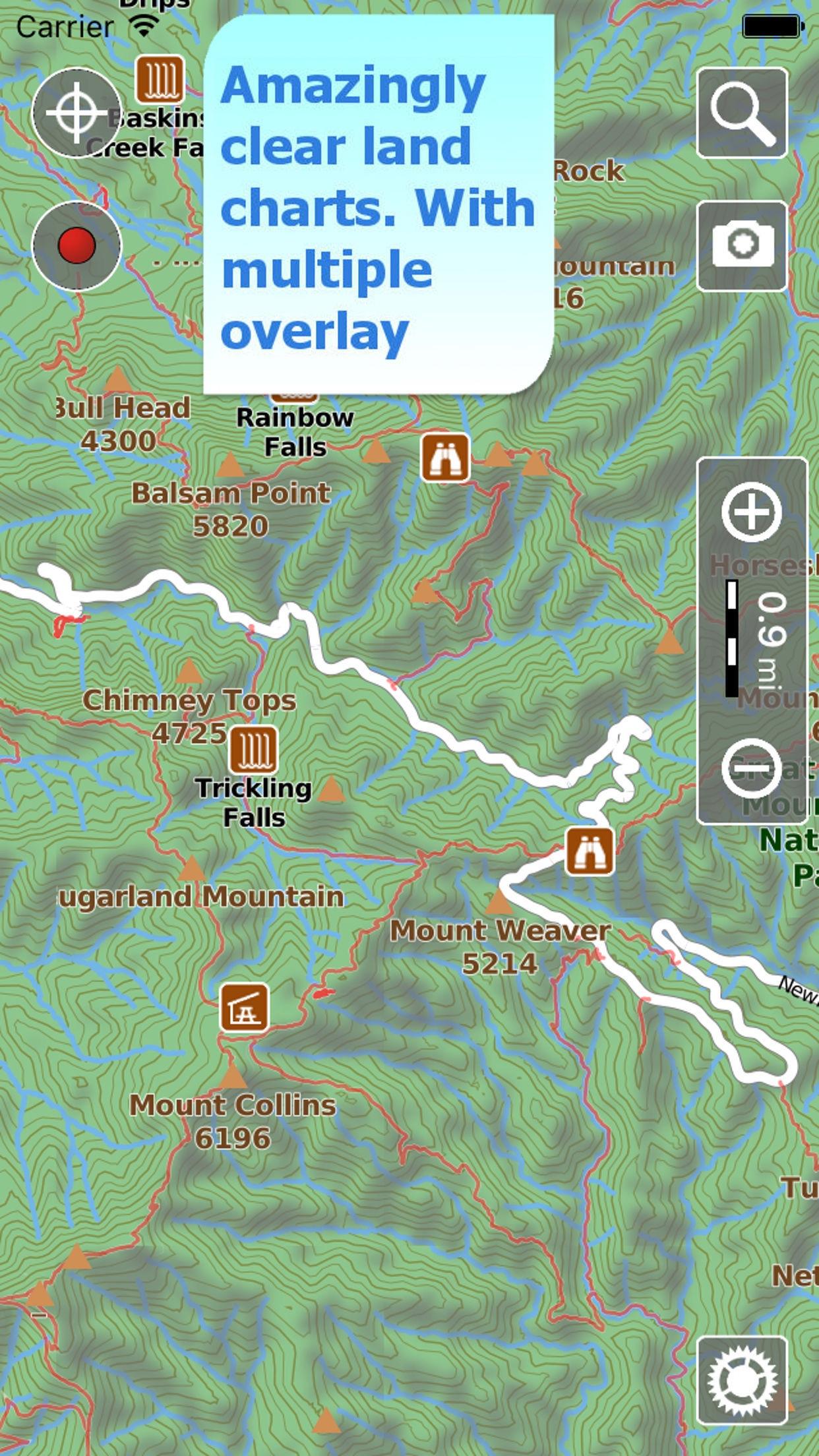 Terra Map Canada HD GPS and topo maps for hiking by GEC srl – Map It Canada