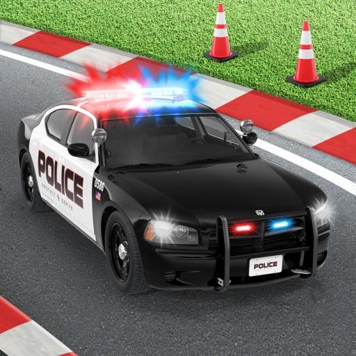 Policedroid 3D : RC Вождение полицейский автомобиль