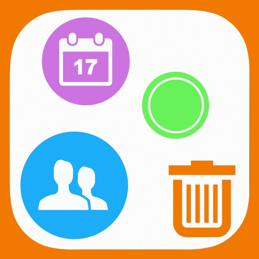Remove Duplicate Contacts, Events and Reminders - Contact Manager