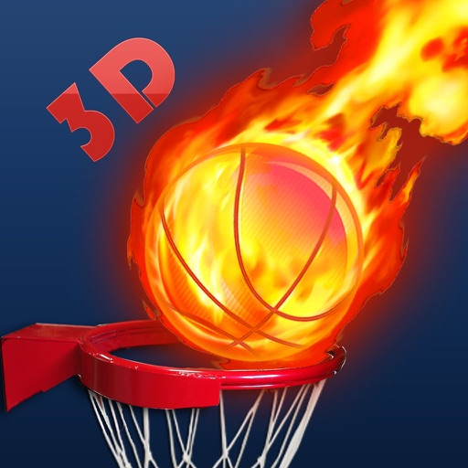 Basket Ball Game 3D iOS App