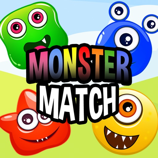Monster Match 3 Puzzle Game Free - Cute Monsters Evolution Fighting Jam iOS App