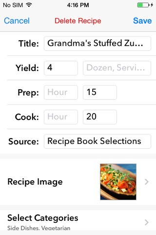 My Recipe Book - Your recipes, finally organized. screenshot 3