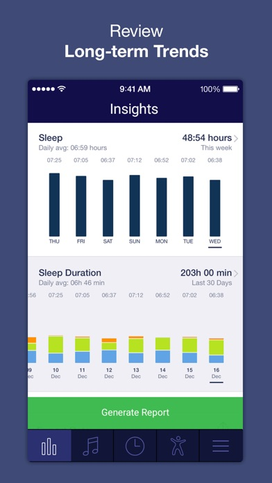 Sleep Time : Sleep Cycle Smart Alarm Clock Tracker, Insights Analysis, Better Soundscape Screenshot