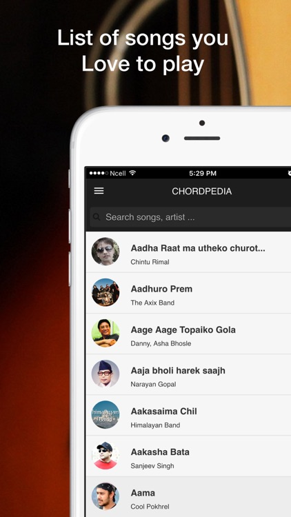 Chordpedia Nepali Songs Chords By Dijup Tuladhar