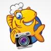 圓形魚鏡頭相機