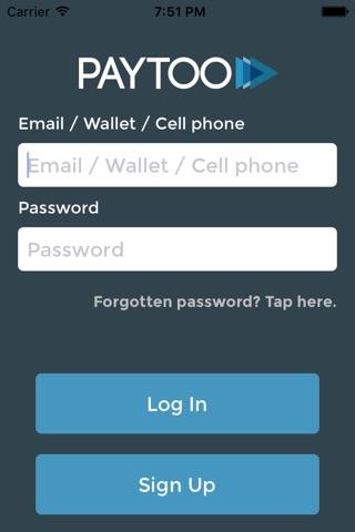 PayToo screenshot 1