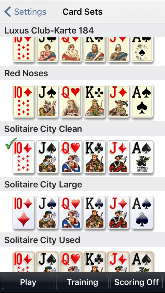 Screenshot #10 for Solitaire City Classic