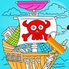 Coloring Book Game for Jake Never Land Pirates Version