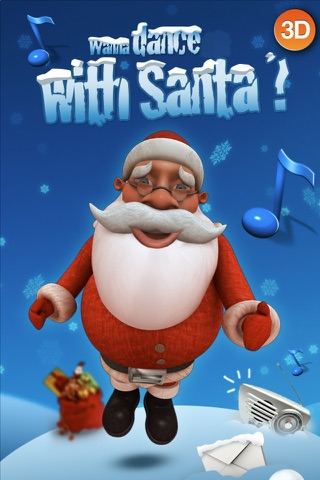 HO HO HO - Talking Santa 3D screenshot 1