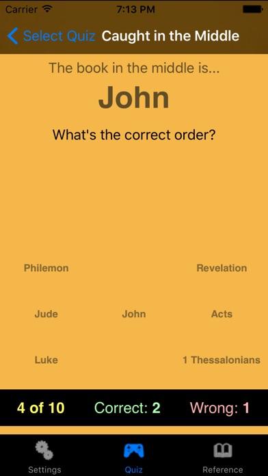 Bible Quiz Deluxe Скриншоты6