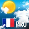 Weerbericht voor Frankrijk Pro