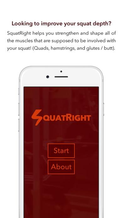 SquatRight - Better Squat Depth, Better Fitness Screenshot