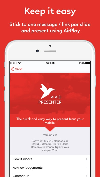 download Vivid Presenter - create and present straight to your Apple TV apps 3